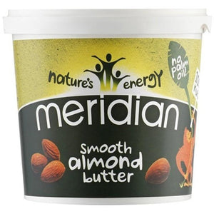 Meridian Smooth Almond Butter 1000g - NutriVault