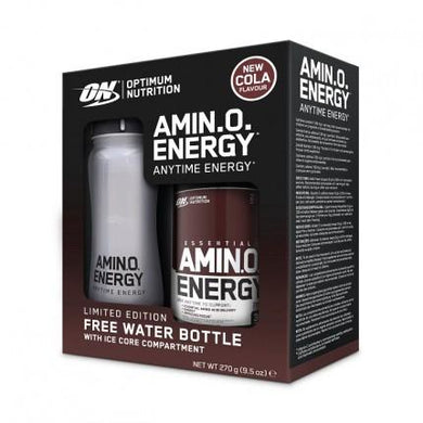 Amino Energy 270g Cola plus FREE Limited Edition Ice Core Water Bottle - NutriVault