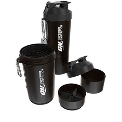 Optimum Nutrition Smart Shaker With Compartments 800ml - NutriVault