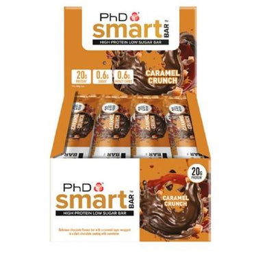 PhD Nutrition Smart Bar 12 x 64g Bars - NutriVault
