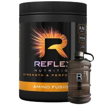 Reflex Nutrition Amino Fusion 33 Servings (Halal & Vegetarian certified) - Free Water Jug - NutriVault
