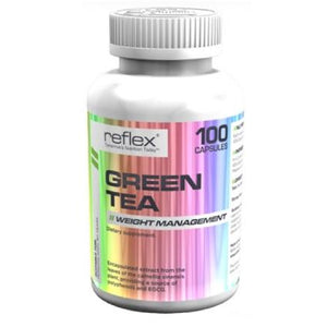 Reflex Nutrition Green Tea 300mg 100 caps (Halal certified) - NutriVault