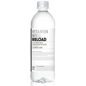 Vitamin Well 500ml x 12 - Reload - LEMON/LIME - NutriVault