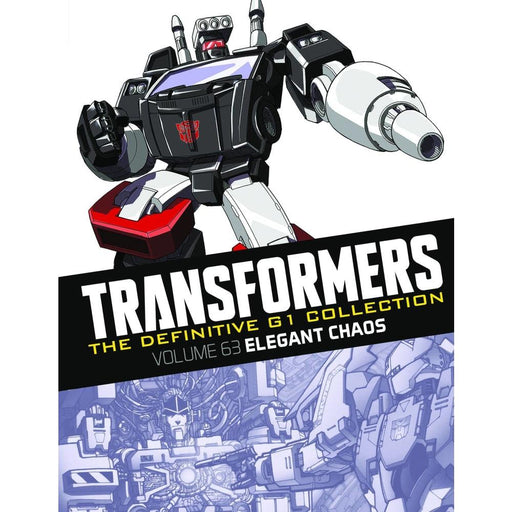 TRANSFORMERS DEFINITIVE G1 COLL HARDCOVER VOLUME 65 ELEGANT CHAOS - Books Graphic Novels