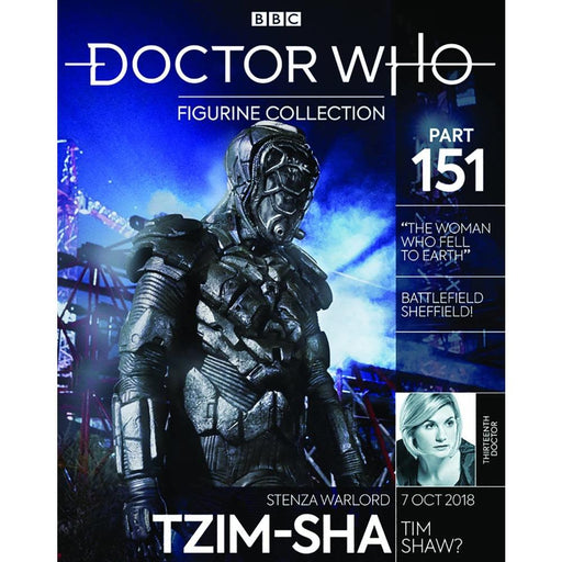 DOCTOR WHO FIGURE COLL #151 STENZA - Magazines