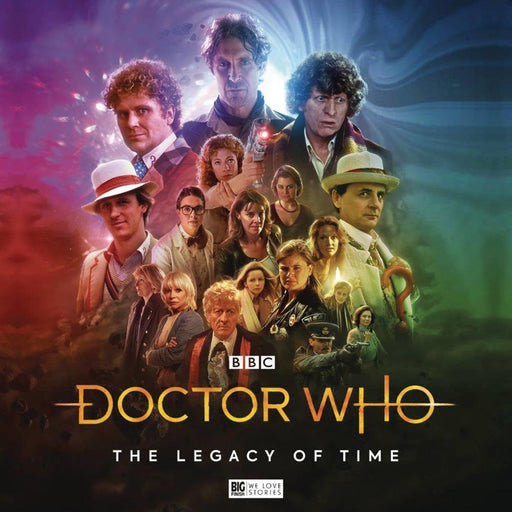 DOCTOR WHO LEGACY OF TIME AUDIO CD - Video/Audio/Video Games