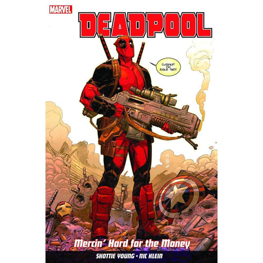 DEADPOOL VOLUME 1 MERCIN HARD FOR MONEY TP - Books Graphic Novels