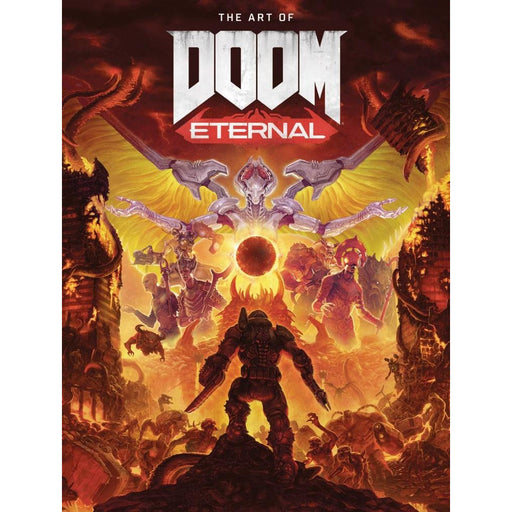 ART OF DOOM ETERNAL HC HC - Books Graphic Novels