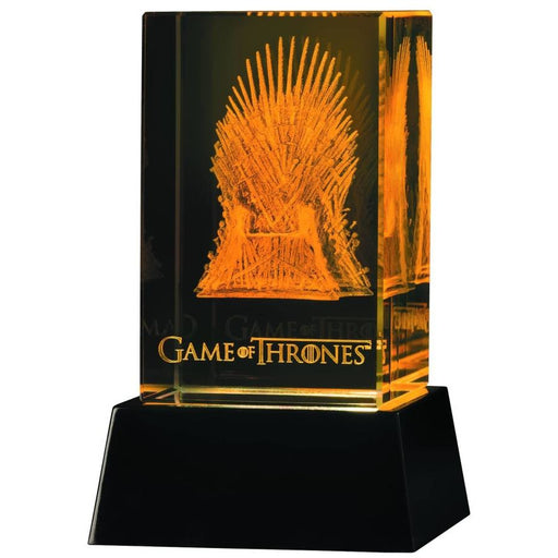 GAME OF THRONES 3D CRYSTAL IRON THRONE ILLUMINATION - Novelties Non Comic
