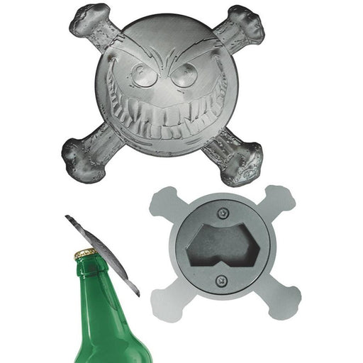 SMILEY PSYCHOTIC BUTTON BOTTLE OPENER - Novelties Comic