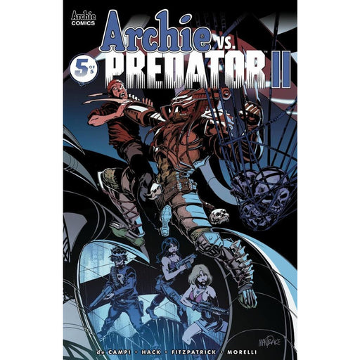 ARCHIE VS PREDATOR 2 #5 (OF 5) CVR B - Comics