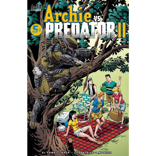 ARCHIE VS PREDATOR 2 #5 (OF 5) CVR D - Comics