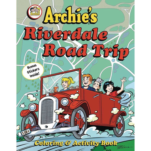 ARCHIES RVERDALE ROAD TRIP ACTIVITY BOOK - Books Novels/SF/Horror