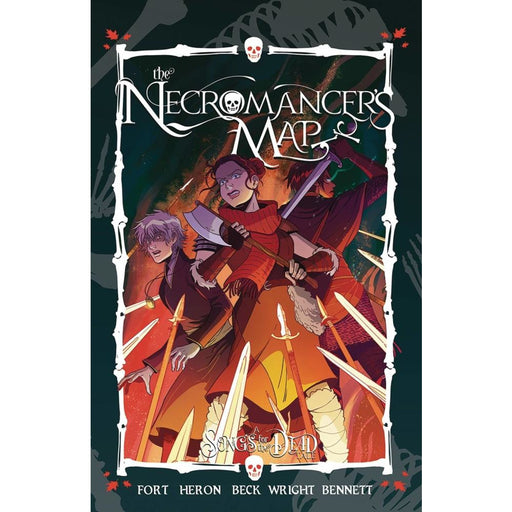 NECROMANCERS MAP TP COMPLETE TPB - Books Graphic Novels