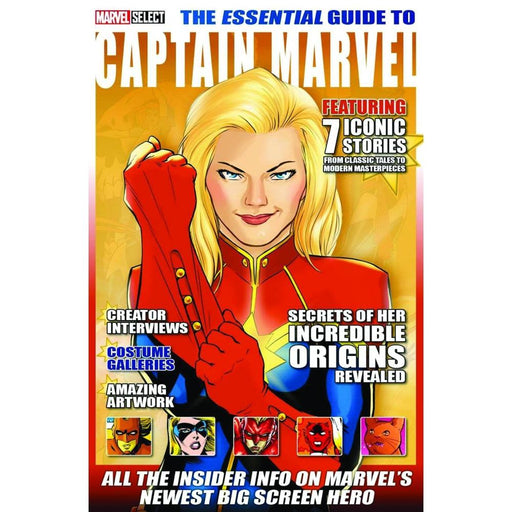 The Essential Guide to Captain Marvel - Magazines