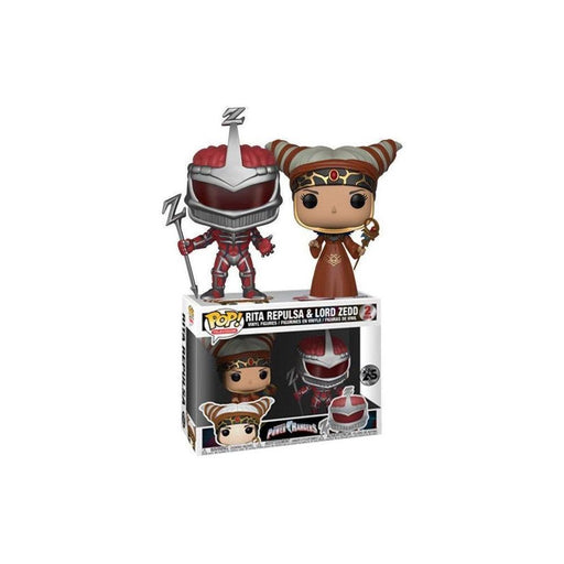 Pop TV Power Rangers 2pk Rita & Lord Zedd Vinyl Figures - Toys/Models