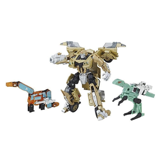 Transformers Bumblebee Gold Camero Retro Rock Garage Figure - Toys/Models