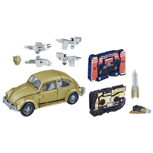 Transformers Bumblebee Gold VW Retro Rock Garage Figure - Toys/Models