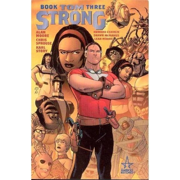 TOM STRONG BOOK 03 TPB - Books-Graphic-Novels