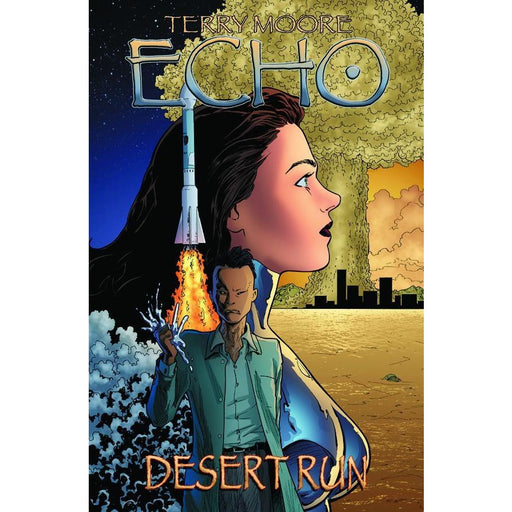 TERRY MOORES ECHO VOL 03 DESERT RUN TPB - Books-Graphic-Novels