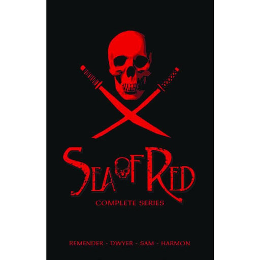 SEA OF RED SLIPCASE COLL - Books-Graphic-Novels