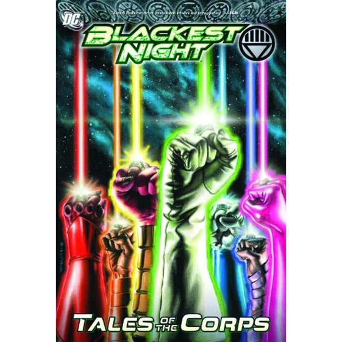 BLACKEST NIGHT TALES OF THE CORPS HC - Books-Graphic-Novels