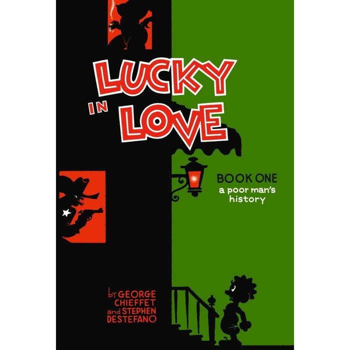 LUCKY IN LOVE A POOR MANS HISTORY HC - Books-Graphic-Novels
