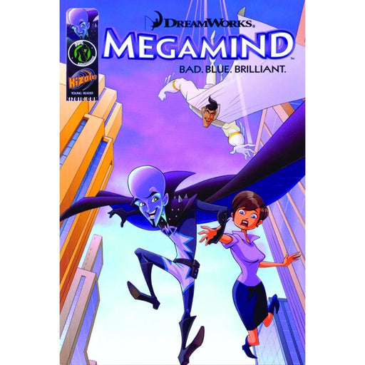 MEGAMIND MOVIE PREQUEL DIGEST GN BAD BLUE BRILLIANT - Books-Graphic-Novels