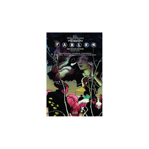 FABLES DELUXE EDITION HC VOL 02 - Books-Graphic-Novels