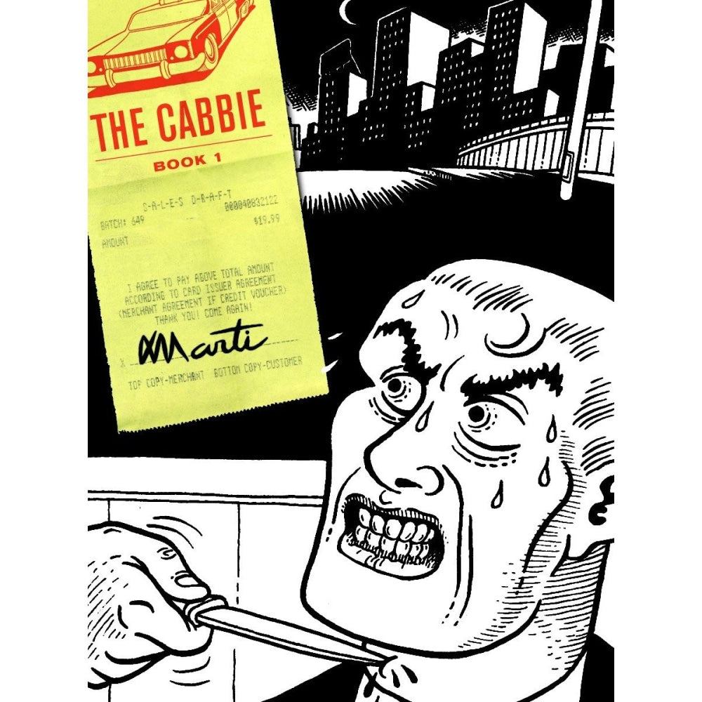 THE CABBIE HC VOL 01 - Books-Graphic-Novels