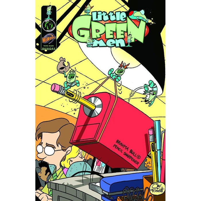 LITTLE GREEN MEN SMALL PACKAGE BIG FUN TPB - Books-Graphic-Novels
