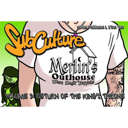 SUBCULTURE WEBSTRIPS GRAPHIC NOVEL RETURN OF THE KINGS THRONE - Books-Graphic-Novels