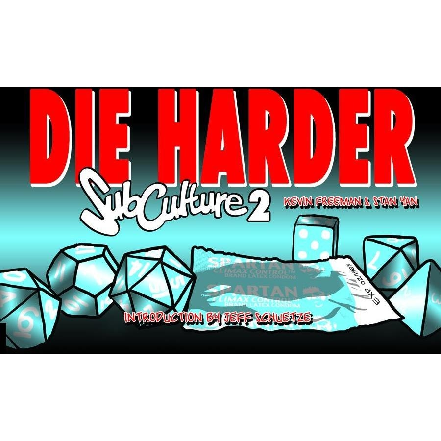 SUBCULTURE WEBSTRIPS VOL 02 DIE HARDER - Books-Graphic-Novels