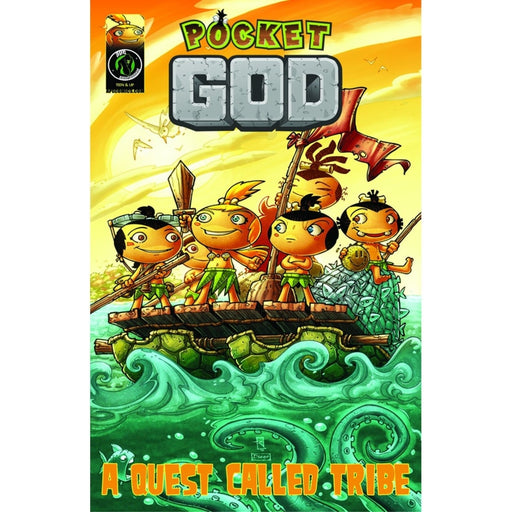 POCKET GOD GN VOL 03 QUEST CALLED TRIBE - Books-Graphic-Novels