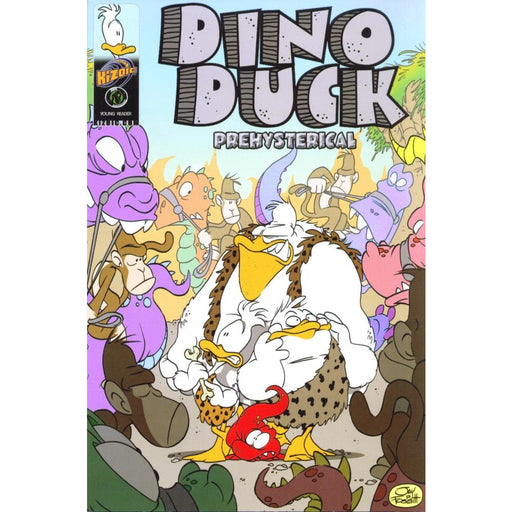 DINO DUCK PREHYSTERICAL GN - Books-Graphic-Novels