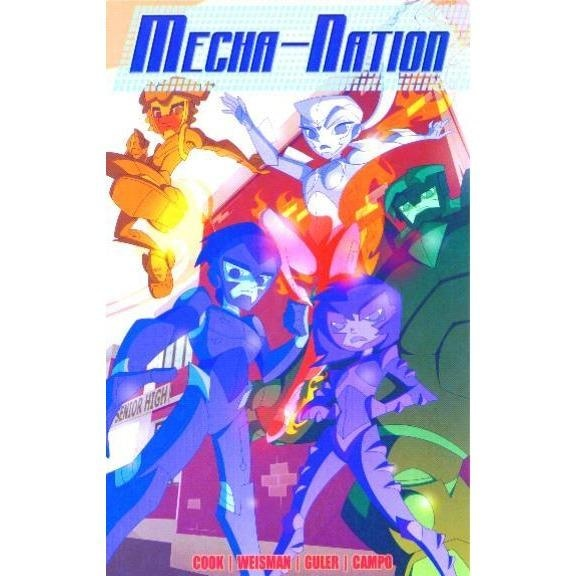 MECHA-NATION ANDROIDOLOGY TPB - Books-Graphic-Novels