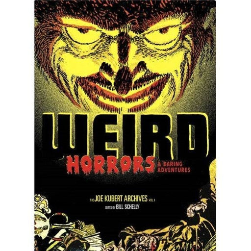 WEIRD HORRORS & DARING ADV JOE KUBERT ARCHIVES HC VOL 01 - Books-Graphic-Novels