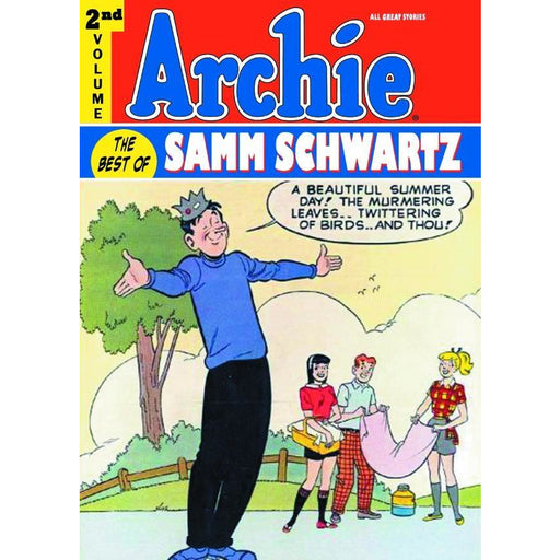 ARCHIE BEST OF SAMM SCHWARTZ HC VOL 02 - Books-Graphic-Novels