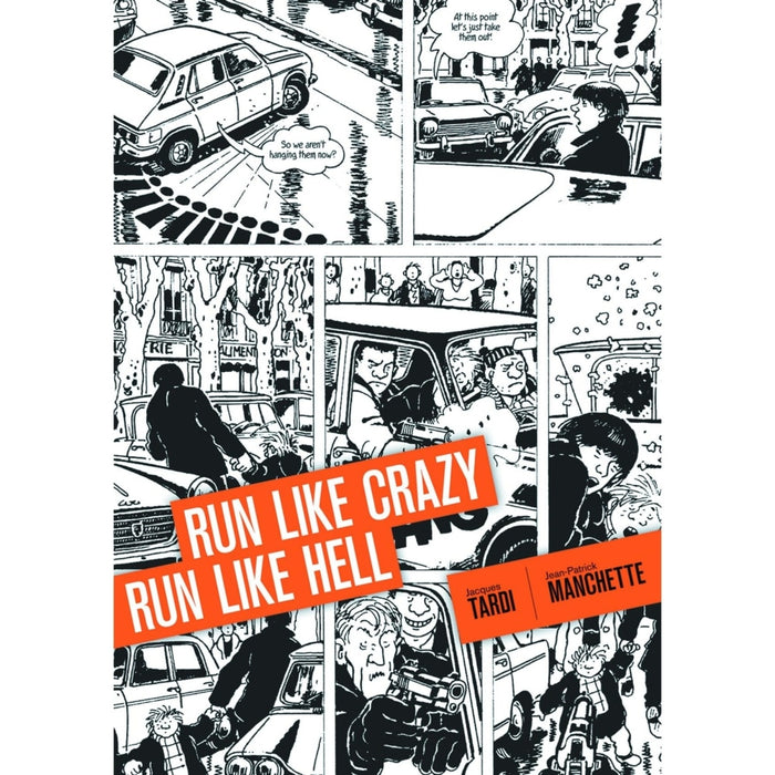 RUN LIKE CRAZY RUN LIKE HELL HC - Books-Graphic-Novels