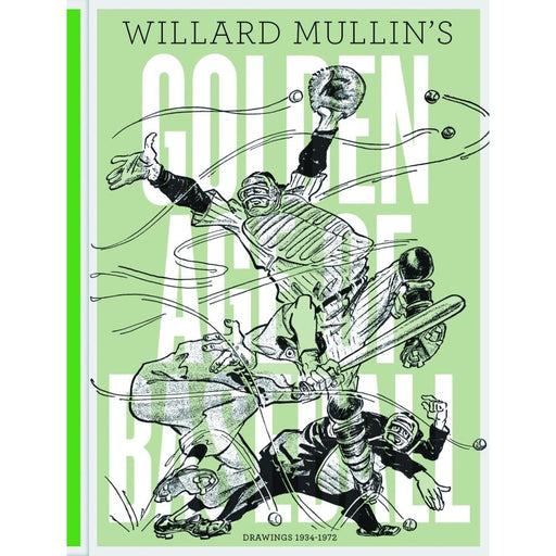 MULLINS GOLDEN AGE BASEBALL DRAWINGSHARDCOVER1934-1972 - BOOK - NOVEL/SF/HORROR - Books-Novels/Sf/Horror