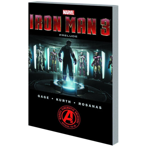 MARVELS IRON MAN 3 PRELUDE TPB - Books-Graphic-Novels