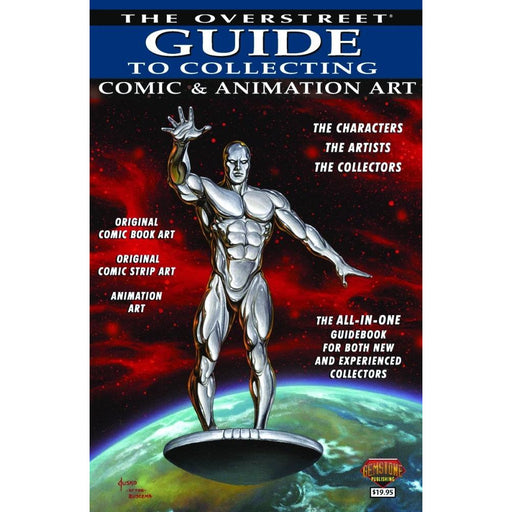 OVERSTREET GUIDE SC COLLECTING COMIC & ANIMATION ART - Books Novels/SF/Horror