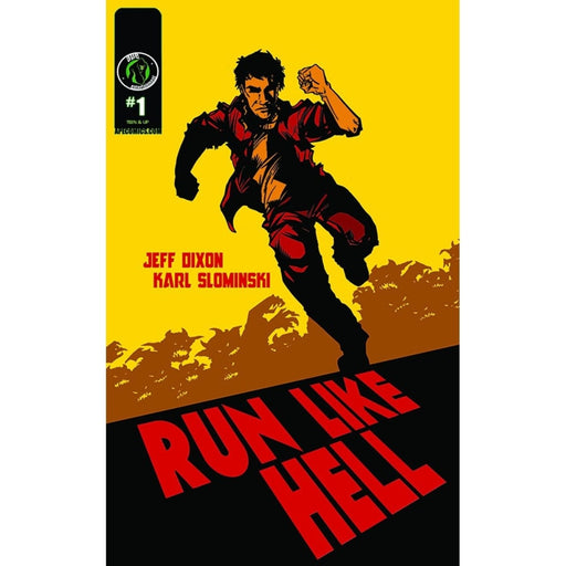 RUN LIKE HELL GRAPHIC NOVEL - Books-Graphic-Novels