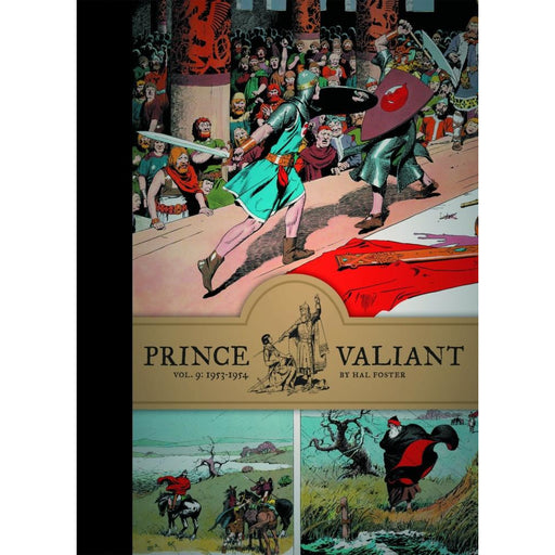PRINCE VALIANT HC VOL 09 1953-1954 - Books-Graphic-Novels