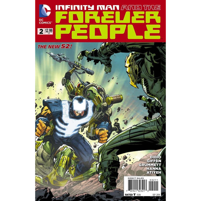 INFINITY MAN AND THE FOREVER PEOPLE #2 - Comics
