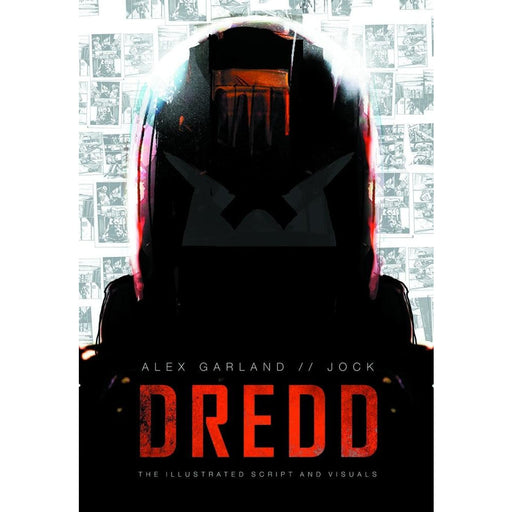 DREDD ILLUS MOVIE SCRIPT & VISUALS GN - Books-Graphic-Novels