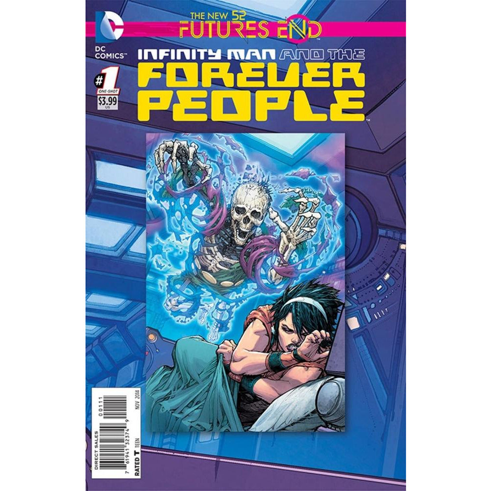 INFINITY MAN AND THE FOREVER PEOPLE FUTURES END #1 - Comics