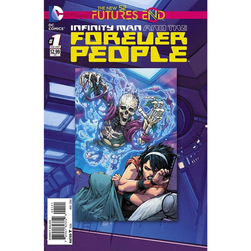 INFINITY MAN FOREVER PEOPLE FUTURES END #1 - Comics