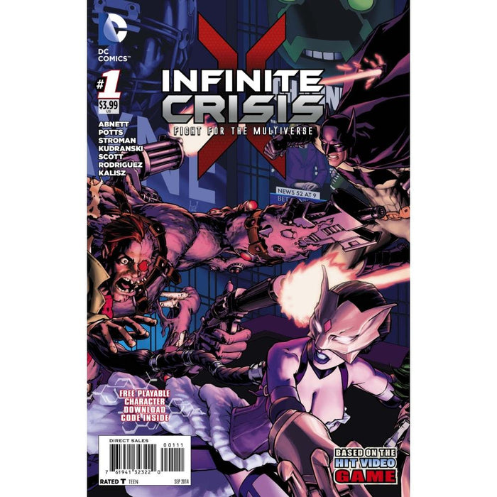 INFINITE CRISIS FIGHT FOR THE MULTIVERSE #1 - Comics