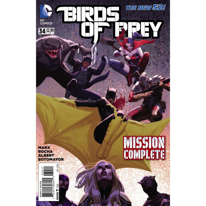 BIRDS OF PREY #34 - Comics